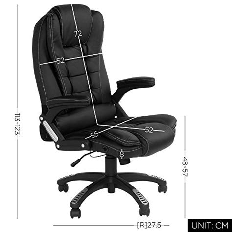 fauteuil bureau inclinable carver fauteuil de bureau inclinable à dossier haut