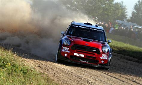 Mini Cooper Mini Rally Wrc Red Sports Drift Dust Hd Wallpaper
