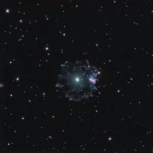 NGC 6543 Cat's Eye Nebula photo - Derek Santiago photos at ...