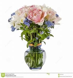 Tulpen In Vase : blumenstrau von blumen in einem vase in tulpen und in vergissmeinnicht lokalisiert stockfoto ~ Orissabook.com Haus und Dekorationen