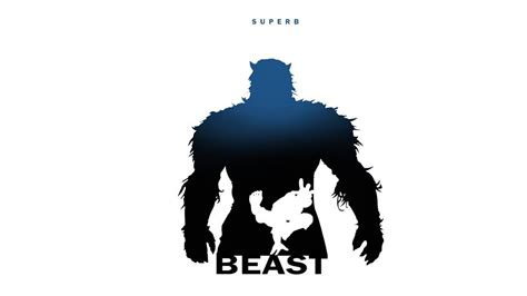 beast marvel character silhouettes garcia steve silhouette class artwork fan characters frost posters heroes dc emma silhouet