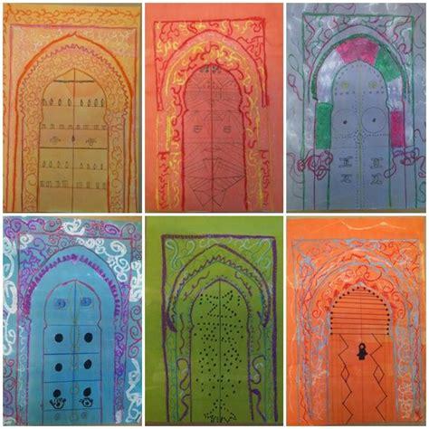 portes marocaines terminees art marocain arts visuels