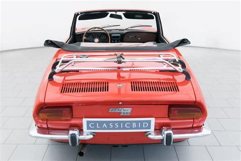 Fiat 850 Sport Spider by Fiat 850 Sport Spider Classicbid