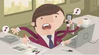 Busy Office Worker on Behance