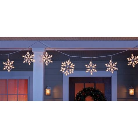 icicle lights target snowflakes string lights wikii