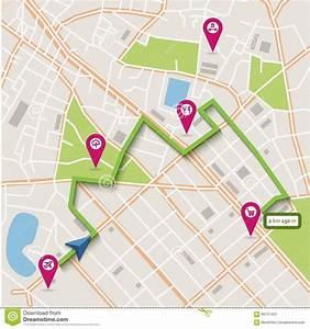 Navigation GPS City Locator Explore Concept Royalty-Free
