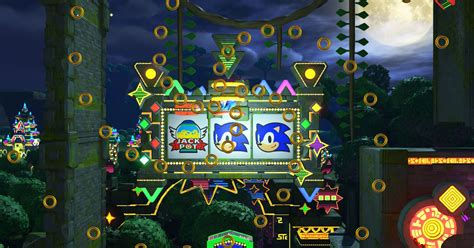 sonic forces   casino level polygon