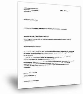 Hamburger Mietvertrag Download Kostenlos : mietminderung geltend machen musterformular download ~ Lizthompson.info Haus und Dekorationen
