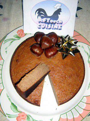 chataignes recettes cuisine gâteau de châtaignes recette aftouch cuisine