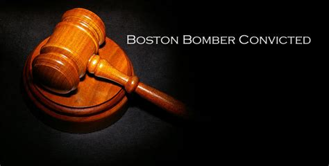 Boston Bomber Convicted On All 30 Counts