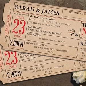 16 unique wedding invitation ideas good housekeeping for Wedding invitations prices uk