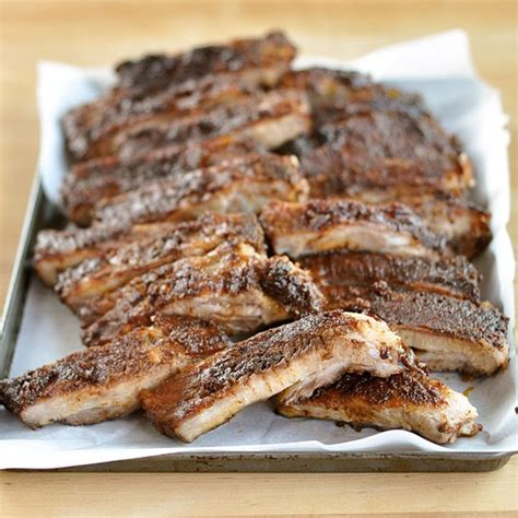 cooking ribs in oven how to make great ribs in the oven cooking lessons from the kitchn the kitchn