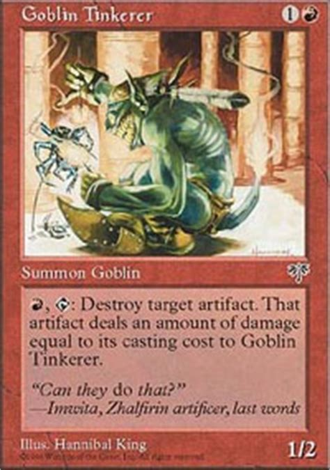 orcish goblin overlord commander edh mtg deck