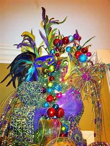 Mardi Gras Christmas Tree - Trendy Tree Blog
