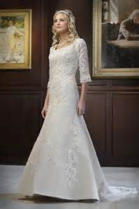 modest wedding gowns simple modest wedding dress with lace sleeves ipunya