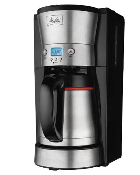 Melitta 46894C 10 Cup Programmable Coffee Maker Review