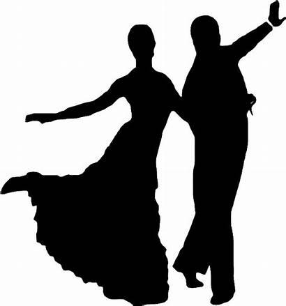 Dance Ballroom Dancing Silhouettes Clipart Clip Pinclipart