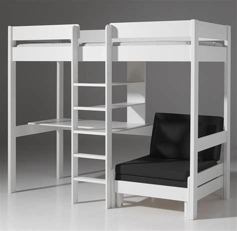 lit mezzanine 1 place bureau integre mezzanine chambre adulte