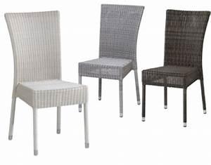 Chaise En Résine Tressée : chaise en r sine tress e isabelle ~ Dallasstarsshop.com Idées de Décoration