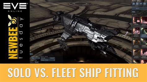 Eve Online Ship Fitting Guide, Solo Vs