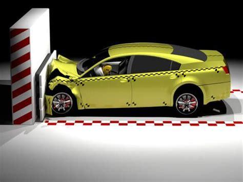 crash safety test crumple features zones cars wand dummy dummies fahren seguridad modern sexista carros volante schnell projekte volvo feature