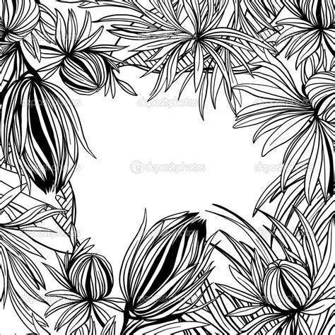 Cornici Bianco E Nero Risultati Immagini Per Cornici Fiori Stilizzati In Bianco