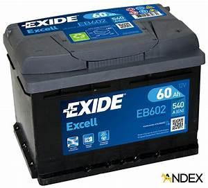 Bosch S4 12v 60ah : battery 12v 60ah exide excell eb602 akumulatory car ~ Jslefanu.com Haus und Dekorationen