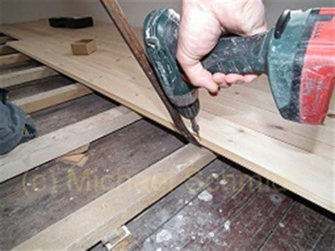 welchen bodenbelag auf alte dielen anleitung dielenboden verlegen die heimwerkerseite de