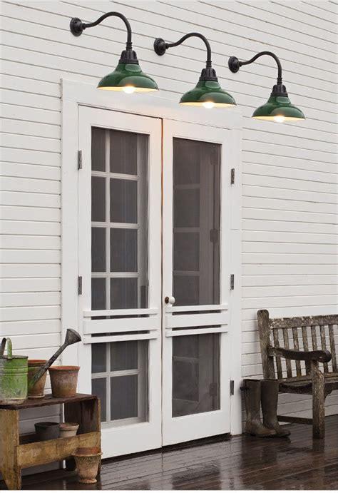 screen doors barn light sconces exterior details