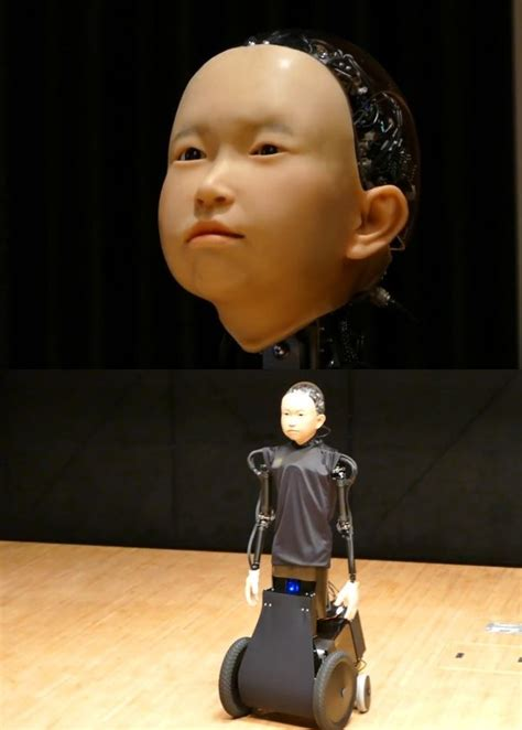 ibuki child  robot demo robotic gizmos