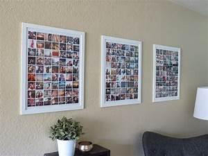 Fotorahmen Selbst Gestalten : fotow nde und fotocollagen ideen mit denen du dein heim verzauberst ~ Markanthonyermac.com Haus und Dekorationen