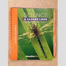 Science A Closer Look  Grade 5  Teacher's Edition  Earth Science  Rent 9780022842130