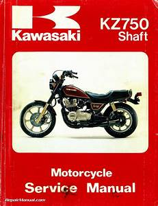 Kawasaki Kz750 Motorcycle Repair Manual Kz750n Kz750p Z750