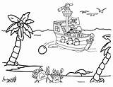 Pirate Ship Coloring Pages Print sketch template