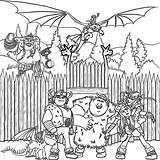 Coloring Dragon Train Pages Printable Getcoloringpages sketch template
