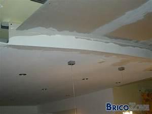 Comment Faire Un Faux Plafond : realiser un faux plafonds arrondi ~ Melissatoandfro.com Idées de Décoration