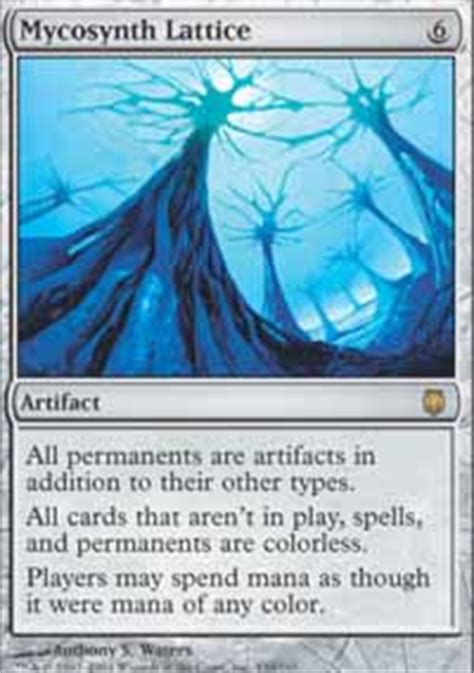 mycosynth lattice darksteel magic the gathering gaming store for cards miniatures