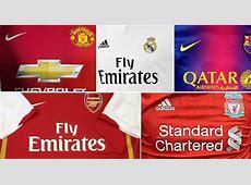 Shirt sponsors Europe shirt sponsorship on course to top
