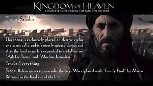 Kingdom of Heaven Soundtrack Themes - Saladin - YouTube