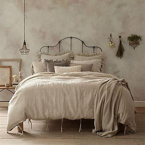 wamsutta vintage linen duvet cover bed bath