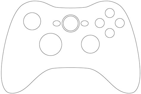 Froggy Books Coloring Pages Video Game Controller Coloring