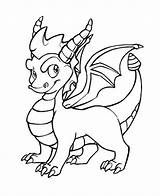 Dragon Drawing Template Coloring Templates Pages Outlines Spyro Drawings Dragons Pdf Sketch Outline Baby Cute Sketches Drachen Colouring Tattoo Animal sketch template