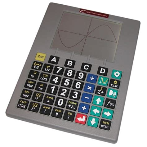 Blind Calculator by Maxiaids Low Vision Talking Scientific Graphing
