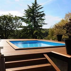 Piscine Semi Enterrée Coque : coque piscine semi enterr e rf66 jornalagora ~ Melissatoandfro.com Idées de Décoration