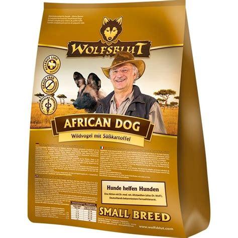 wolfsblut african dog small breed hundefutter von