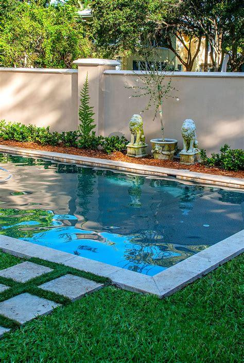 Modern — Sekas Custom Pools   Small backyard pools, Small ...