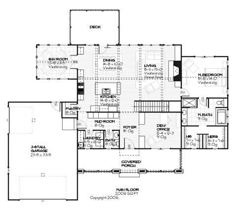 Mudroom Floor Plans by Craftsman Style House Plan The Mudroom Bathroom