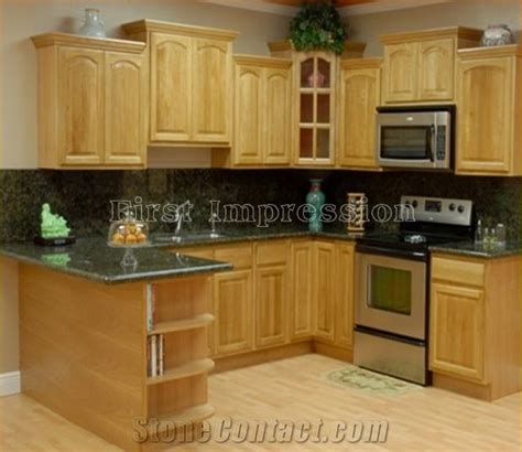 kitchen islands with granite tops china green granite kitchen countertops chengde green 8310