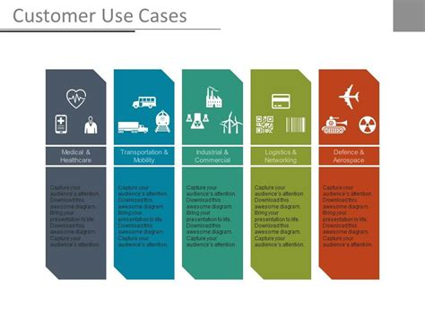 Customer Use Cases Ppt Slides