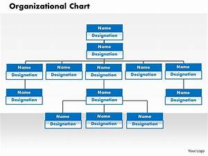 power point org chart template - organizational chart powerpoint presentation slide template